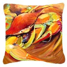 Crab Spice Indoor/Outdoor Throw Pillow