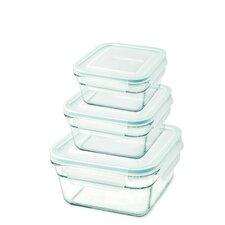 6 Piece Square Container Set