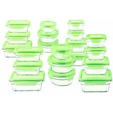 40-Piece Glasslock Food Storage Container Set