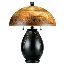 """Odysseus 18"""" H Table Lamp with Bowl Shade"""