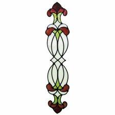 Window Decor Ophelia Stained Glass Applique Window Sticker