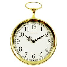 "Wyvil 10"" Pocket Watch Wall Clock"