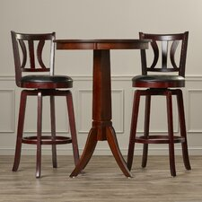 Dalison 3 Piece Pub Table Set
