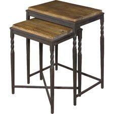 Akins 2 Piece Nesting Table Set