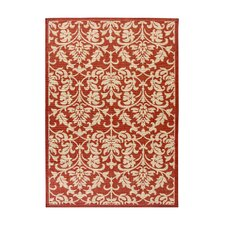 Fairview Red & Natural Area Rug