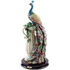 The Peacock's Sanctuary Figurine