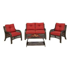 Thatcher 4 Piece Seating Group with Cushions
