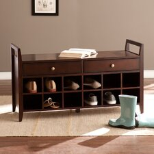 Whitmore Shoe Storage Entryway Bench