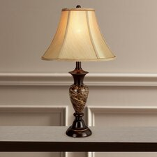 "Deirdra 25"" H Table Lamp with Bell Shade"