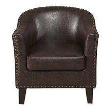 Upholstered Barrel Chair