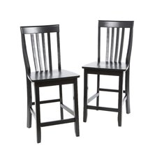 "Geraldine 24"" Bar Stool (Set of 2)"