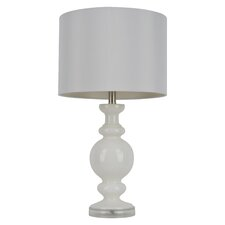 "Dryden 27"" H Table Lamp with Drum Shade"