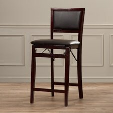 "Parke 24"" Bar Stool with Cushion"