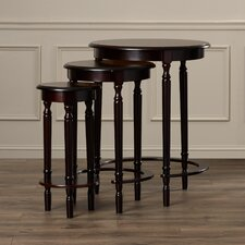 Wythinghall 3 Piece Round Nesting Table Set