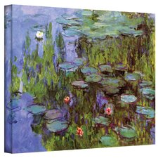 'Sea Roses' by Claude Monet Painting Print on Canvas