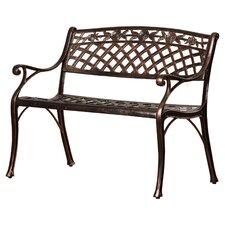 Cast Aluminum Garden Bench