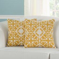 Moroccan Decorative Throw Pillow (Set of 2)