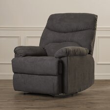 Fay Wall Hugger Upholstered Microfiber Recliner