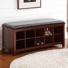 Cape Anne Wood Storage Entryway Bench