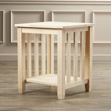 Maguire Wood Mission End Table