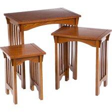Bischoptree 3 Piece Nesting Table Set