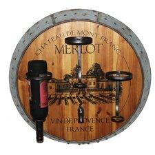 Merlot 3 Bottle Wall Mount Wine Rack