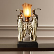 Hopwood Peacock Maidens Illuminated Figurine
