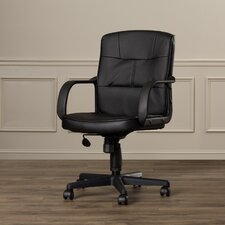 Reeve Low-Back Leather Office Chair