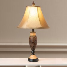 """Justine 26"""" H Table Lamp with Bell Shade"""