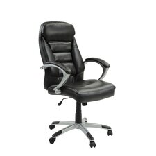 Bonniview High-Back Leather Executive Chair