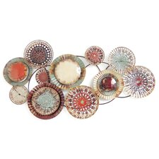 Multi-Colored Circles Wall Decor