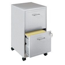 Maddox 2-Drawer Mobile Vertical Filing Cabinet