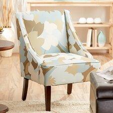 Floral Slipper Chair