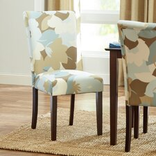 Floral Parsons Chair (Set of 2)