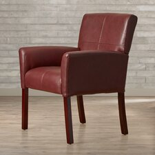 Milliken Leather Executive Lounge Chair