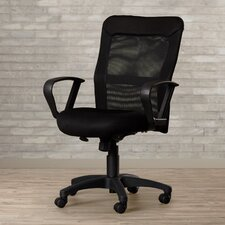 Abell High-Back Mesh Conference Chair with Loop Arms