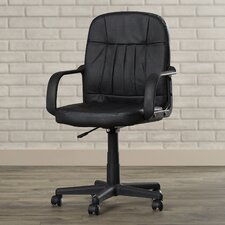 Clairlea Mid-Back Leather Conference Chair