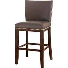 "Tiffany 24"" Bar Stool with Cushion (Set of 2)"