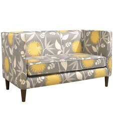 Five Button Loveseat