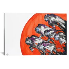 Out of a Rising Sun by Marc Allante Painting Print on Wrapped Canvas