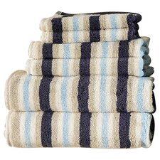 Bath 6 Piece Towel Set