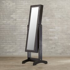 Noma Jewelry Armoire with Mirror