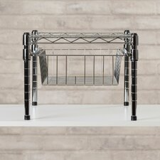Lyons Adjustable Shelf With Under Cabinet Organizer