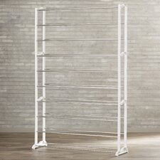 Hornell 50 Pair 10 Tier Shoe Rack