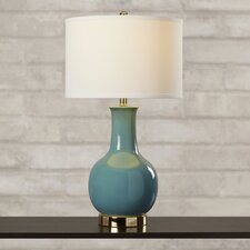 "Selma 27.5"" H Table Lamp with Drum Shade"
