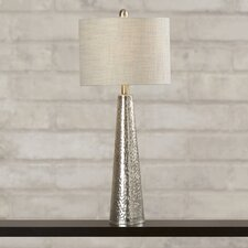 "Alchemy 29"" H Table Lamp with Drum Shade"