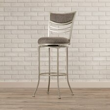 "Elgin 30"" Swivel Bar Stool with Cushion"