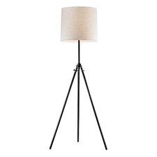 "Stick Leg Tripod 63"" H Floor Lamp with Drum Shade"