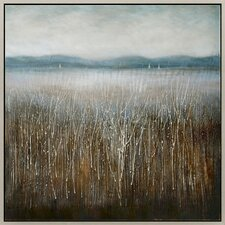 Lonesome Forest Framed Painting Print on Canvas