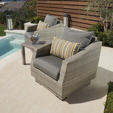 Cannes 3 Piece Setting Group with Cushions